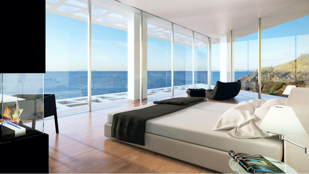 4 способа отопить помещение с панорамными окнами