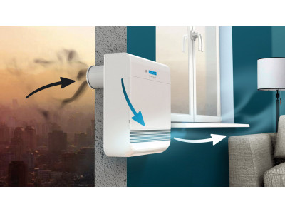 Приточно-вытяжная вентиляция обеспечит свежий воздух в доме