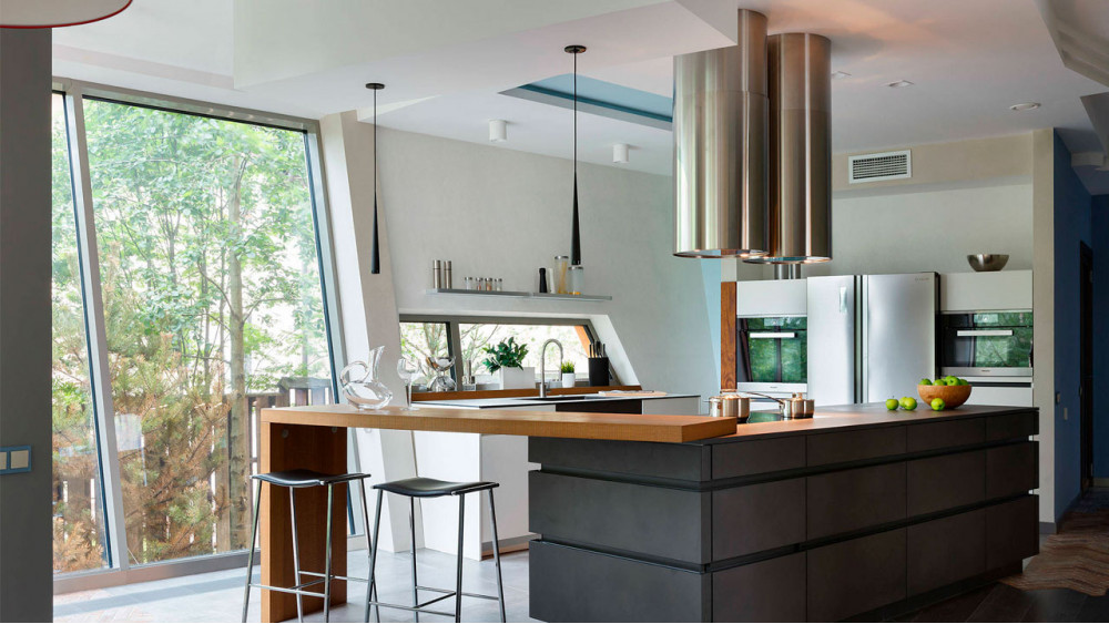 Избавиться от грибка на кухне поможет современная вентиляция в доме