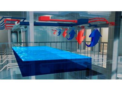 Вентиляция крытого бассейна: на что обратить внимание при планировании